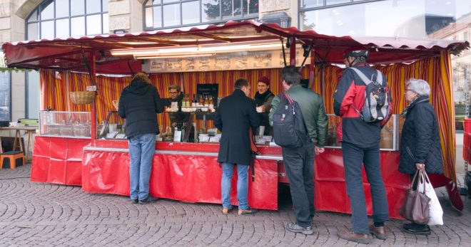 Stand Andipasti in Darmstadt